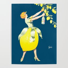 Vintage  Advertising Poster - Geo Spa Citron, 1925 Poster
