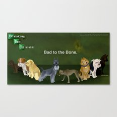 Breaking Bad Dogs Canvas Print
