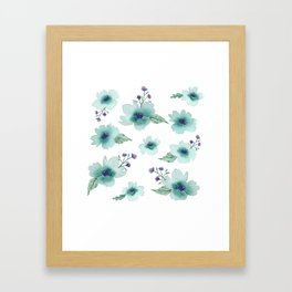 Pick Me a Bouquet Framed Art Print