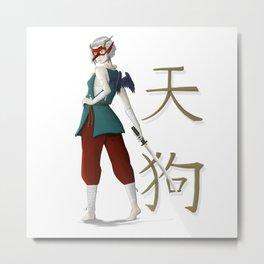 Tengu Woman Metal Print