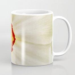 Painted Daffodil Macro Coffee Mug