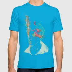 Clouder Mens Fitted Tee Teal LARGE