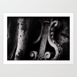 crafted stone 3 Art Print
