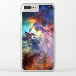 Lagoon Nebula Clear iPhone Case