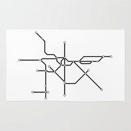 Metro São Paulo Rug