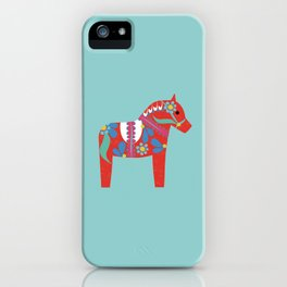swedish horse iPhone Case