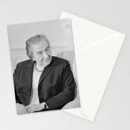 Golda Meir - Israeli Prime Minister Stationery Cards