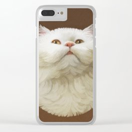 Round Cat - Yom Clear iPhone Case