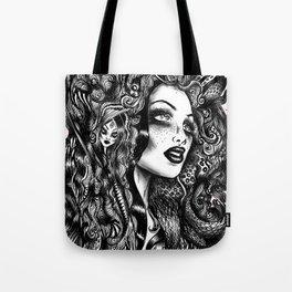 Baroque Head Tote Bag