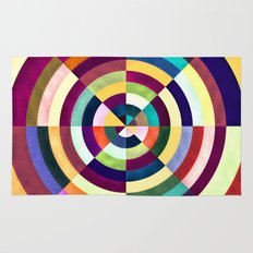 Playing Darts with Colours Rug
