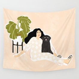 Best friendship story Wall Tapestry