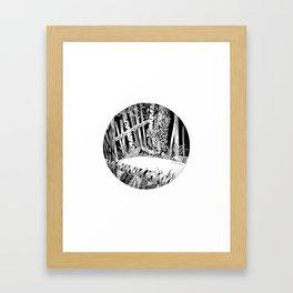 Abandoned Robot Framed Art Print