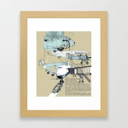 Airport Framed Art Print