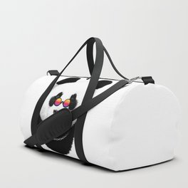Panda hippie Duffle Bag