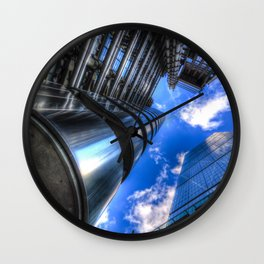 Lloyd's of London and the Cheese Grater Wall Clock