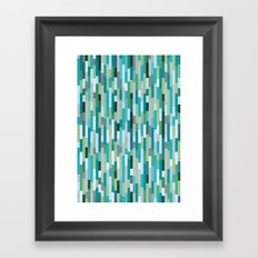 City by the Bay, Rainy Bay Day Framed Art Print