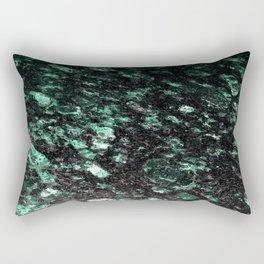 The Jade Sleeping Beneath the Black Granite Rectangular Pillow
