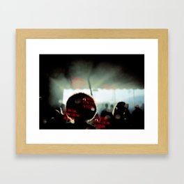 is this love Framed Art Print