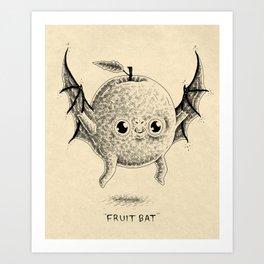 Fruit Bat Art Print