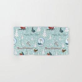 Merry christmas pattern SB13 Hand & Bath Towel