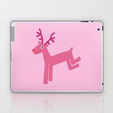 Reindeer-Pink Laptop & iPad Skin