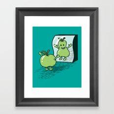 I wish I were... Framed Art Print