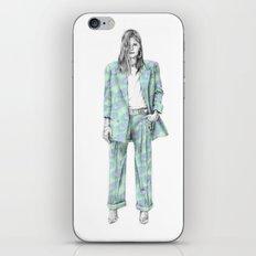 Balmain print suit iPhone & iPod Skin