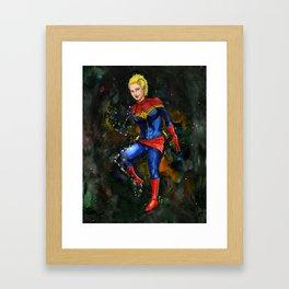 Princess Sparklefists Framed Art Print