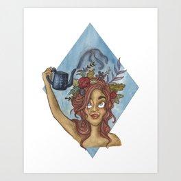 Let Your Imagination Grow Art Print
