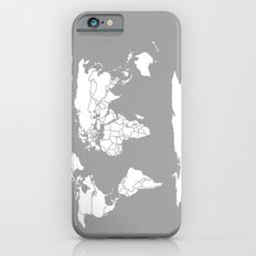A Political Map of the World iPhone 6 Slim Case