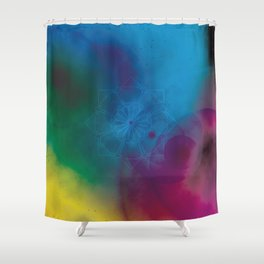 Other Worlds Shower Curtain
