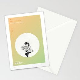 Hibernating Insects Surface Stationery Cards