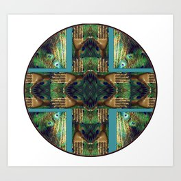 Beautiful Hands Mandala Art Print