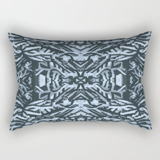 snowy branches Rectangular Pillow