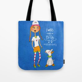 Dogs Are BBFs ❤️ Tote Bag