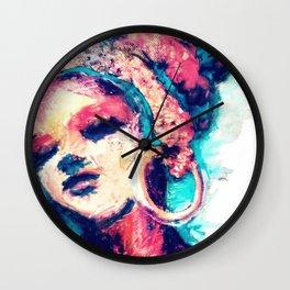 Portrait 151 Wall Clock