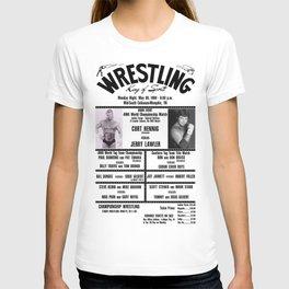 #13 Memphis Wrestling Window Card T-shirt