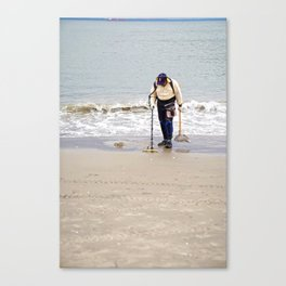 Searching for Treasure Canvas Print