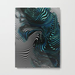 FLUX 2 Metal Print