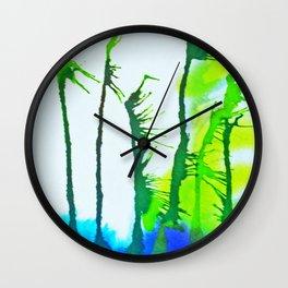 Tres Palmas Wall Clock