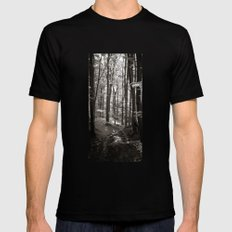 forrest VI. Mens Fitted Tee SMALL Black