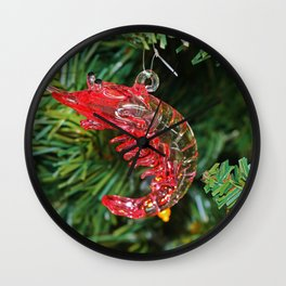 It's a Shrimp Wall Clock