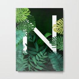 N-Nature Metal Print