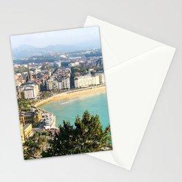 La Concha de San Sebastián Stationery Cards
