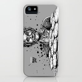 Carol's Got Cookies! From the Walking Dead. Melissa McBride in comic book form. iPhone Case
