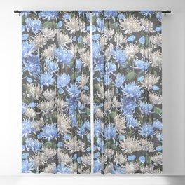 Blue Mums Design — L Diane Johnson Sheer Curtain