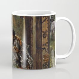 "Edward Burne-Jones ""The Merciful Knight"" Coffee Mug"
