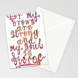 Soul Fierce Stationery Cards