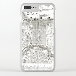 Philadelphia Region - Pennsylvania - United States - 1777 Clear iPhone Case