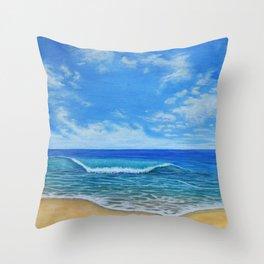 Beach Day 2 Throw Pillow